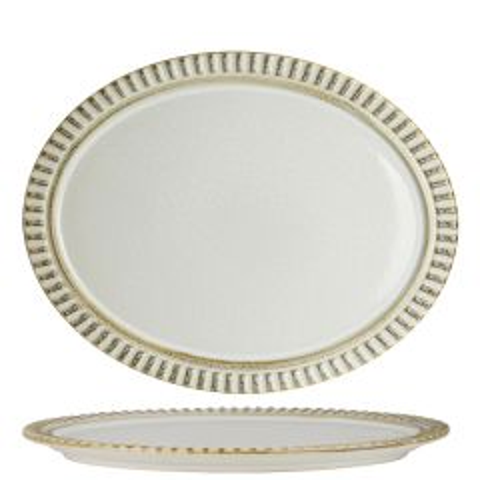 "Robert Gordon Adelaide Birch Oval Platter 13.75x10.75"" / 34.9x27.3cm"