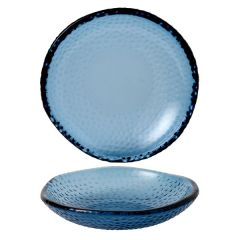 Churchill Isla Ocean Blue Organic Glass Bowl