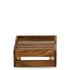 """Alchemy Buffetscape Rustic Small Stacking Crate Riser 10.1x 8.75x3.75"""" / 25.8x22.5x9.4cm"""