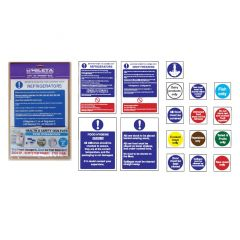 Food Storage Sign Pack Containing