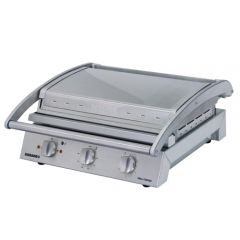 Roband Grill Station Flat Based Griddle Plate Ribbed Top 490x560x220mm