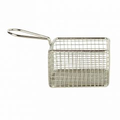 Stainless Steel Square Basket 9.5x9.5x6cm / 3.75x3.75x2.5""