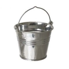 Stainless Steel Serving Bucket 7x6cm 4oz/12.5cl