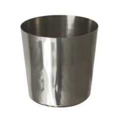 "Stainless Steel Chip Cup Plain 3.5"" / 9cm"