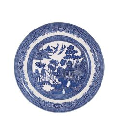 """Churchill Willow Pattern Side Plate 6.75"""" / 17cm"""