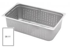 Stainless Steel Perforated Gastronorm 1/1 65mm