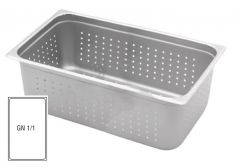 Stainless Steel Perforated Gastronorm 1/1 100mm