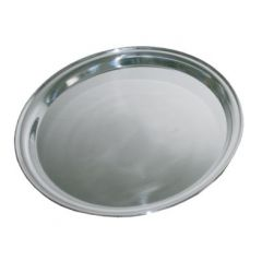 """Stainless Steel Round Tray 16"""" / 40cm"""