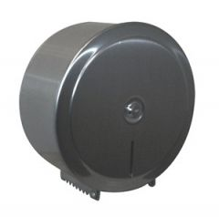 Brushed Stainless Steel Dispenser for Jumbo Toilet Roll