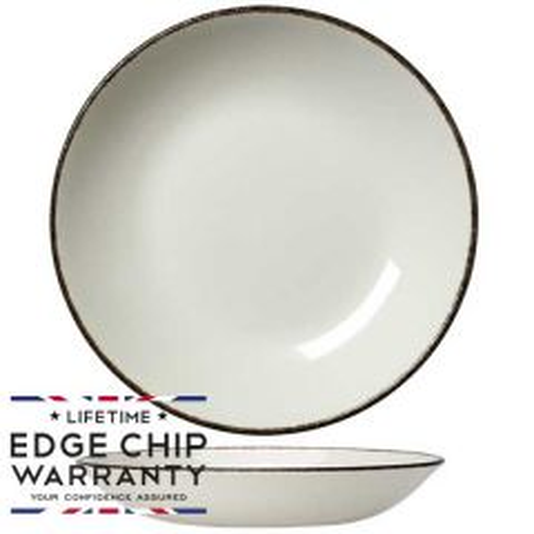 "Steelite Charcoal Dapple Coupe Bowl 10"" / 25.2cm"