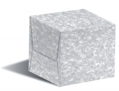 Cube White Cosmetic Tissues 2ply