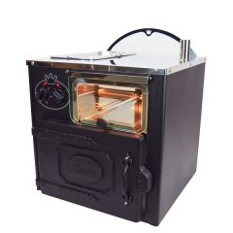 King Edward Classic Compact Black Potato Oven 455x490x570mm