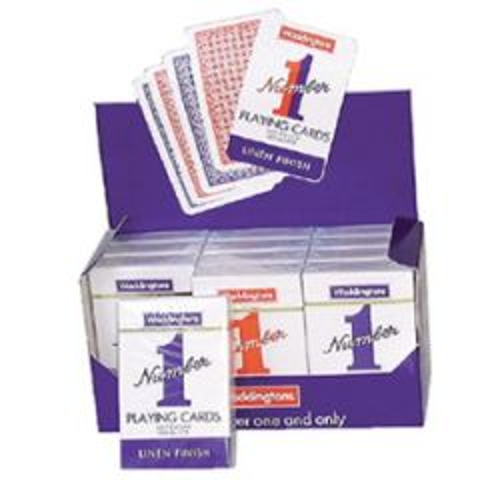 Waddingtons No.1 Linen Finish Playing Cards