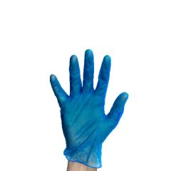 Disposable Blue Powder Free Vinyl Gloves Small