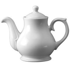 Churchill White Sandringham Tea / Coffee Pot 4 Cup 30oz / 85.2cl