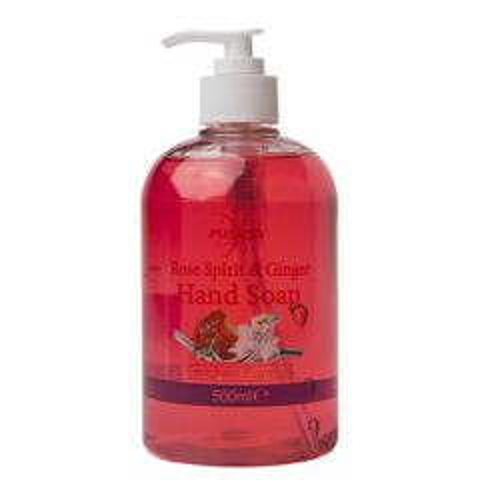 Fusion Rose Spirit & Ginger Oil Liquid Hand Soap 500ml