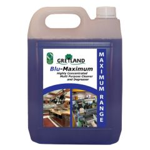 Greyland Blu-Maximum Heavy Duty Deep Clean Degreaser 5Ltr