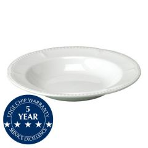 "Churchill Buckingham White Pasta Plate 11"" / 28cm"