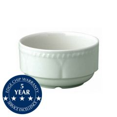 Churchill Buckingham White Unhandled Stacking Bowl 16oz / 44cl