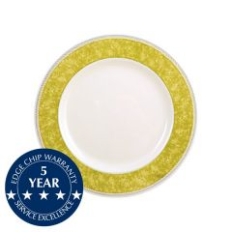"Churchill New Horizons Yellow Border Plate 6.5"" / 16.5cm"