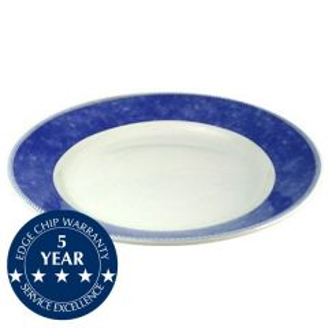 "Churchill New Horizons Blue Border Mediterranean Dish 11"" / 28.5cm"