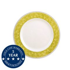 "Churchill New Horizons Yellow Border Soup Plate 9"" / 23cm"