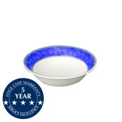 "Churchill New Horizons Blue Border Oatmeal Bowl 6"" / 15.2cm"