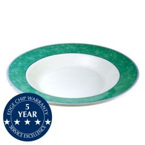 "Churchill New Horizons Green Border Pasta 11.75"" / 30cm"