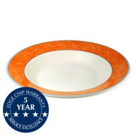 "Churchill New Horizons Orange Border Pasta 11.75"" / 30cm"