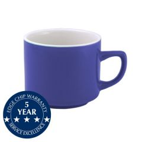 Churchill New Horizons Blue Glaze Maple Teacup 7oz / 19.6cl