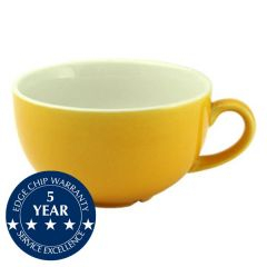 Churchill New Horizons Yellow Glaze Cappuccino Cup 10oz / 28cl