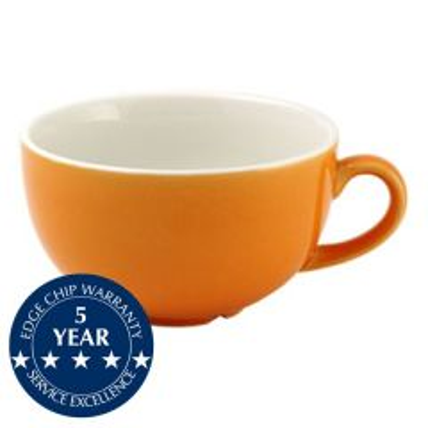 Churchill New Horizons Orange Glaze Cappuccino Cup 10oz / 28cl