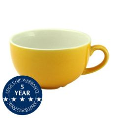 Churchill New Horizons Yellow Glaze Cappuccino Cup 7oz / 19.6cl