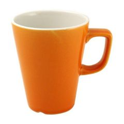 Churchill New Horizons Orange Glaze Latte Mug 12oz / 34cl