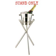 """Elia Wave Collapsible Tripod Stand Stainless Steel 20"""" / 51cm Tall"""