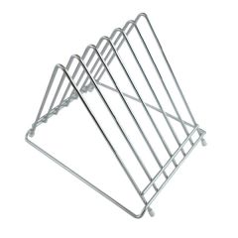 Stainless Steel 6 Slot Chopping Board Rack