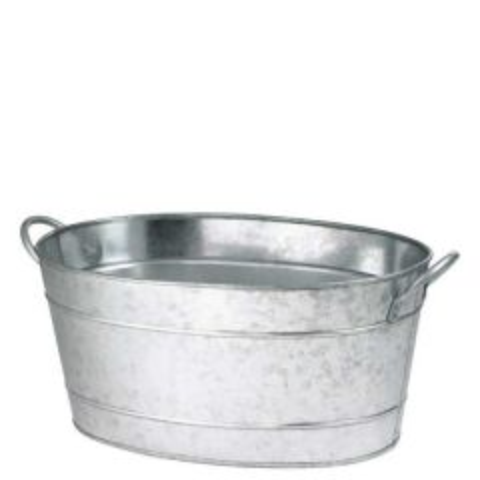Galvanised Steel Oval Beverage Tub