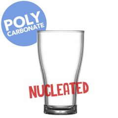 Elite Polycarbonate Viking Nucleated Tumbler 15oz Lined and CE at 2/3pt