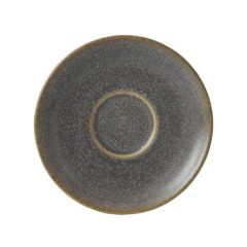 "Clearance Dudson Evo Granite Tea Saucer 6.375""/16.2cm"