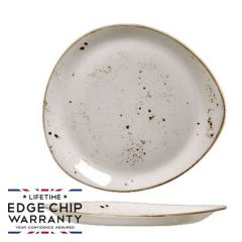 "Steelite Craft White Freestyle Plate 10"" / 25cm"