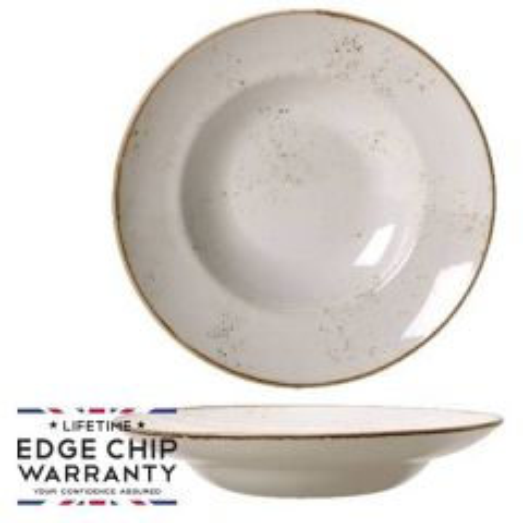 "Steelite Craft White Nouveau Bowl 10.75"" / 27cm"