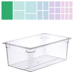 Clear Polycarbonate Gastronorm 1/1 200mm