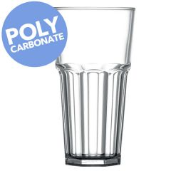 Elite Polycarbonate Remedy 20oz Tall Clear Glass CE