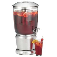Upscale Single Beverage Dispenser With Infuser 9.5Ltr 10.75x10.75x19.5""