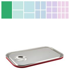Stainless Steel Gastronorm Silicone Sealing Lid 1/1