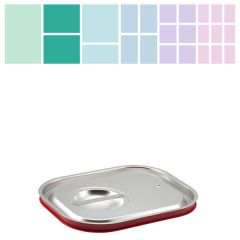 Stainless Steel Gastronorm Silicone Sealing Lid 1/2