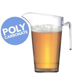 Elite In2Stax Polycarbonate Stacking  Jug CE 2 Pint to Line