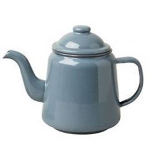 Pigeon Grey Enamel Teapot 1 Litre