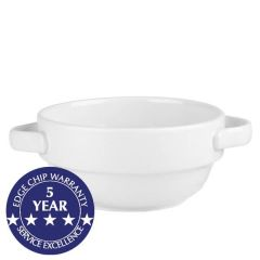 Churchill Profile Lightweight Handled Stacking Bowl 13.3oz / 37.7cl