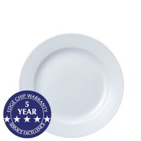 "Churchill White Classic Plate 8"" / 20.3cm"